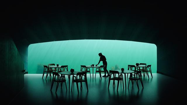 An Extraordinary Underwater Restaurant Just Opened In Norway
