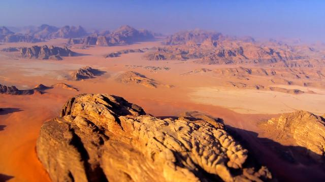 People Say This Remote Place In Jordan Looks Like Surface Of Mars