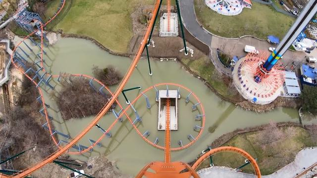 What's It Like To Ride The World's Fastest, Tallest And Longest Dive Roller Coaster