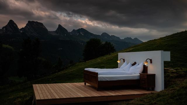This Swiss Alps Hotel Doesn't Have Walls Or A Roof