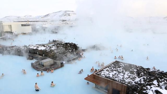 People Are Dying To Take A Dip In This Icelandic Lagoon That Sits On Lava Field