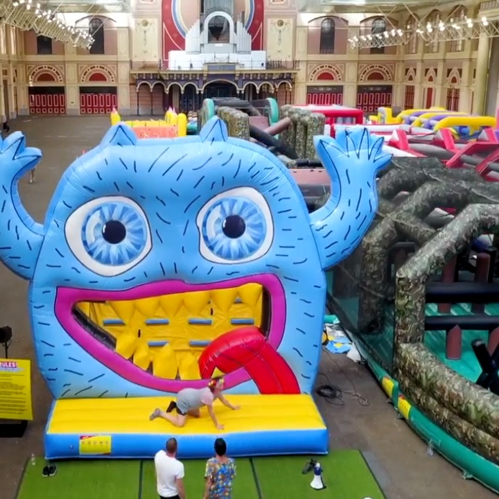 UK Has A Bouncy Castle For Adults