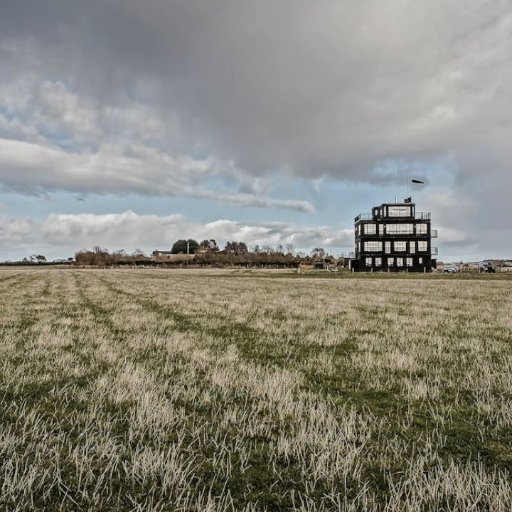 This Airbnb used to be a World War II air control tower