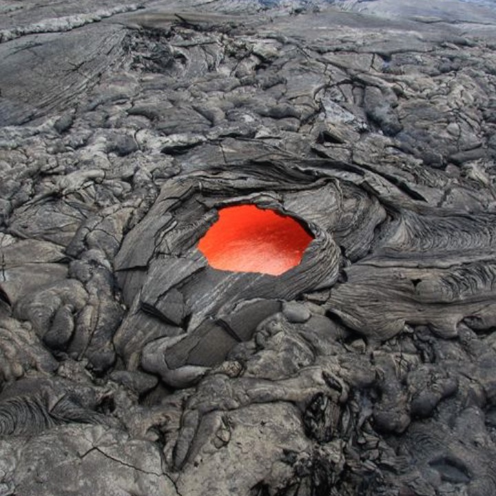 Hawaii's Lava Skylights Look Like A 'Portal To Hell'