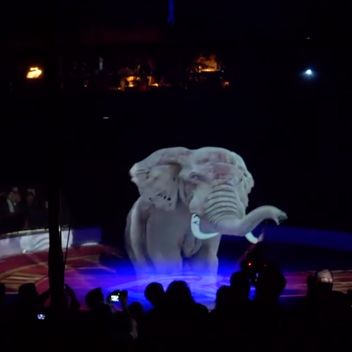 Leaving The Real Animals Alone, This German Circus Uses Holograms Instead