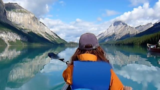 Daily Escape: Kayaking in Jasper National Park, Canada