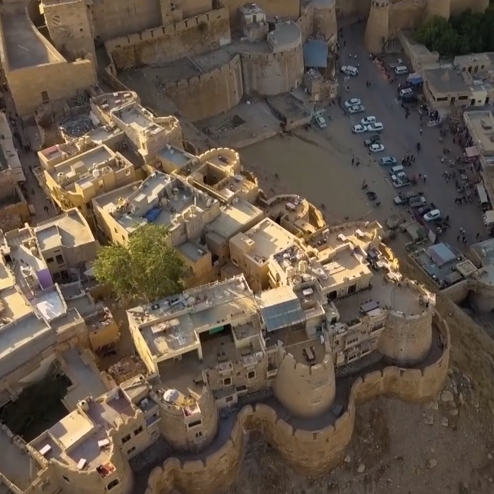 The only living fort in the world is home to thousands of people