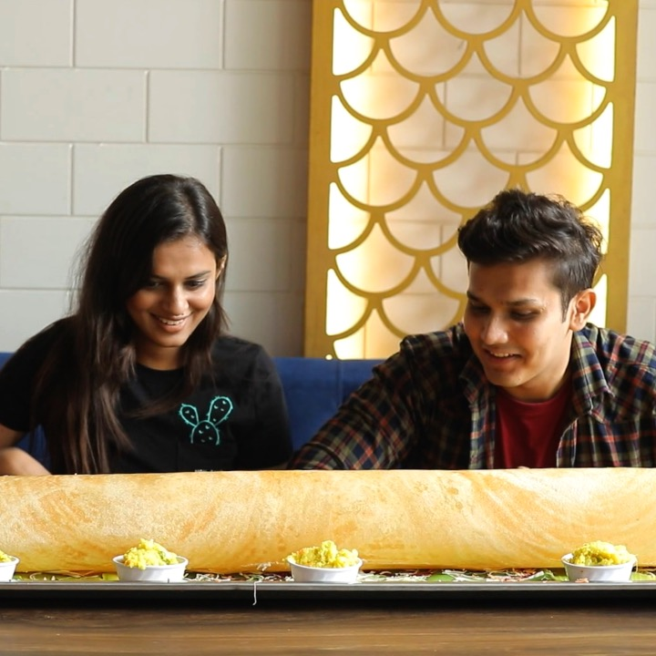 A restaurant in New Delhi is serving monster 4-foot dosas