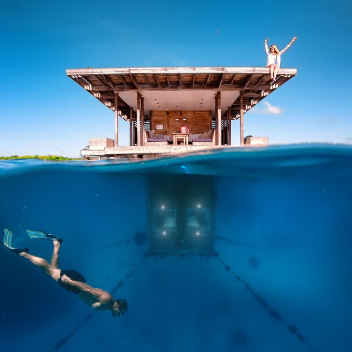 These 5 undersea hotels are so cool you'd never want to come back to ground