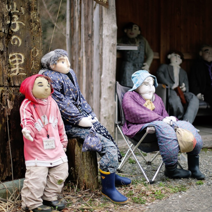 This strange Japanese village has been taken over by dolls