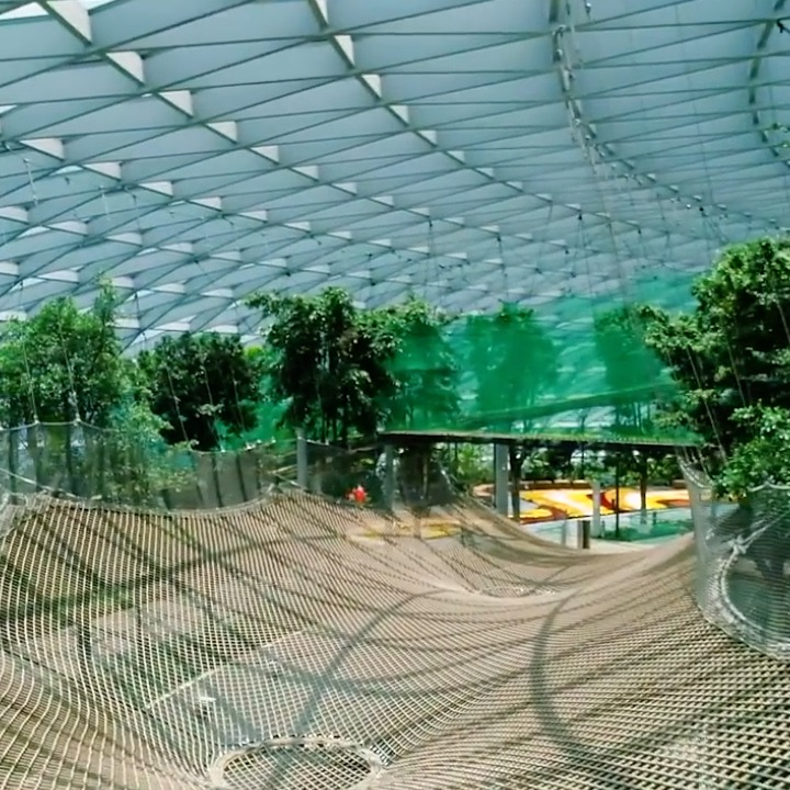 Singapore built a giant canopy park...inside an airport