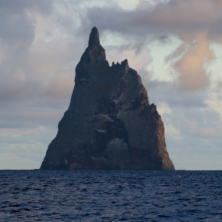 This stone tower in the middle of ocean was part of a lost continent