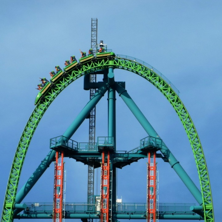 These are 7 of the scariest roller coaster drops in the world