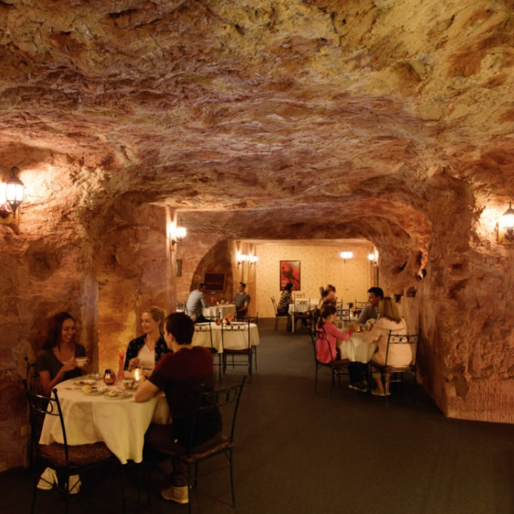 Australia has created an underground town with homes, restaurants and hotels