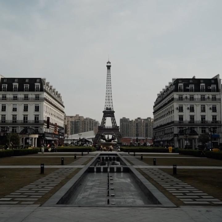 China created a disturbing replica of Paris