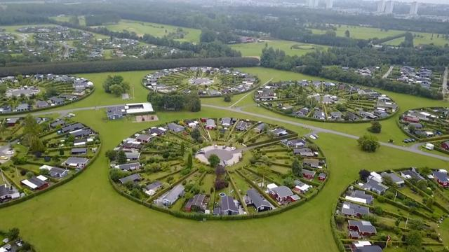 These Danish circular suburbs look like alien bases