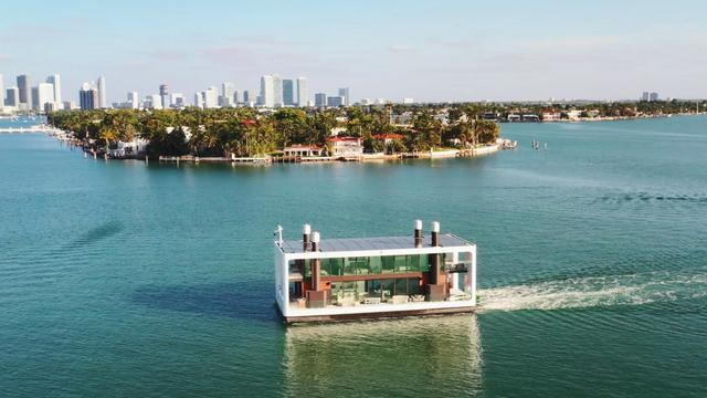 The $5.5M floating mansion