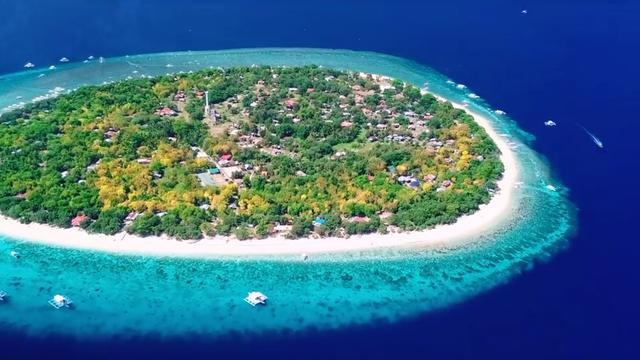 No seriously, this is a real island in Philippines