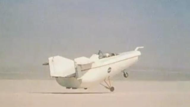 5 Of The Strangest NASA Flying Machines
