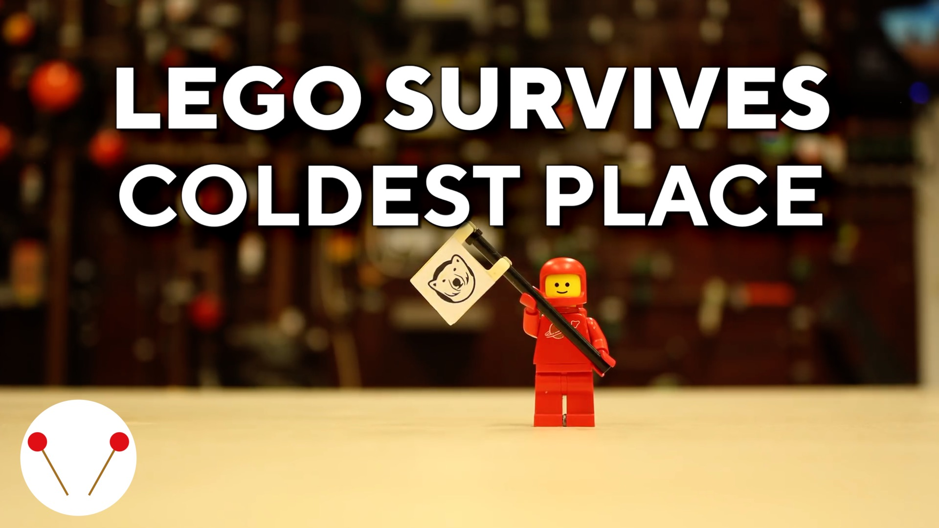 This Lego survived the coldest place in universe